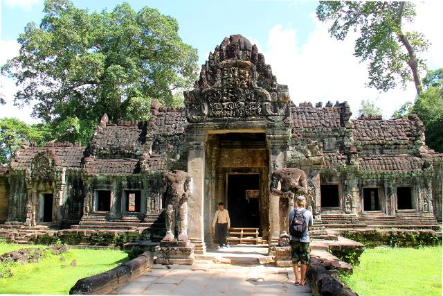 Preah Khanin temppeliraunio.