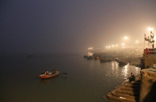 Ganges Varanasissa.