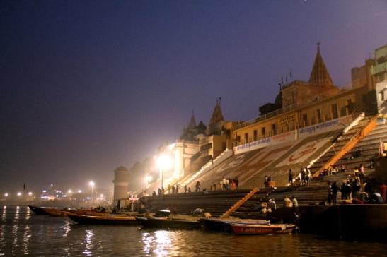 Jain ghat, jonka takana majailin.