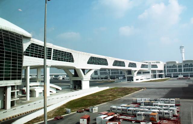 Kuala Lumpurin lentokenttä.